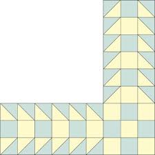 Quilt Border Patterns Custom Sawtooth Square Quilt Border Pattern HowStuffWorks