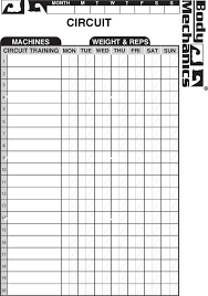 Work Out Charts Template Download Work Out Charts Template For Free Tidytemplates