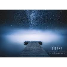 Träume Spruch Poster Reinders