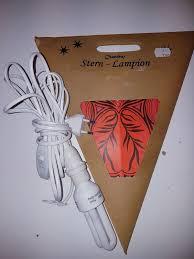 Weihnachtssternstern Lampion