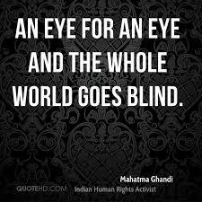 Mahatma Ghandi Quotes QuoteHD Unique Blind Quotes