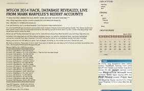 The victim of a massive hack, mt. Mt Gox Hack Allegedly Reveals Bitcoin Balances Customer Account Totals Techcrunch