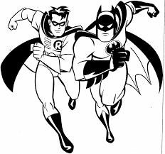Robin And Batman Coloring Pages Batman Movie Coloring Pages