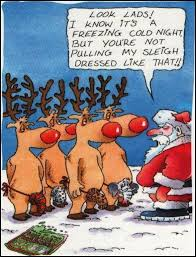 funny reindeers christmas jokes cartoons