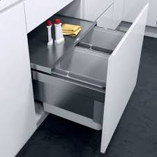kitchen recycling bins cabinets