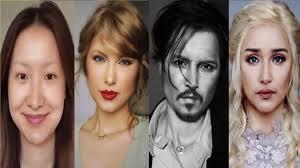 celebrity makeup amazing