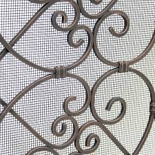 bowed fireplace screens categories fireplace screens screen pilgrim single panel screens view all view all screen