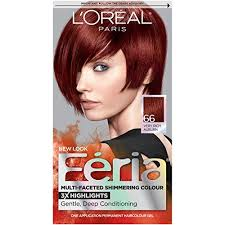 Loreal Paris Feria Multi Faceted Shimmering Color 66 Ruby