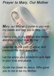 AMM - Prayer to Mary, Our Mother