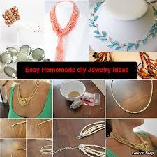 creative easy homemade diy jewelry ideas 2016