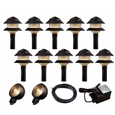 landscape low voltage lighting kits low voltage led landscape lighting kits landscape lighting