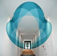 Truly Design Shape Shifting 3d Mural Changes As You Walk Through It