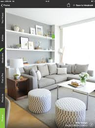 Grey lounge suite + loving the shelving also