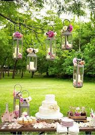 garden wedding decorations wedding