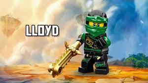 Lloyd - LEGO Ninjago - Character Spot - YouTube