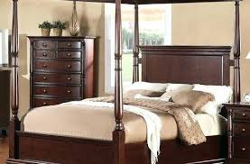 Unique Wood Canopy Bed On Frame Queen And Metal Twin Amazing Solid ...