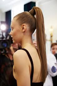 balmain s high ponytail the latest bridal hairstyle in 2017