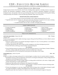 Executive Resume Examples Writing Tips Ceo Cio Cto