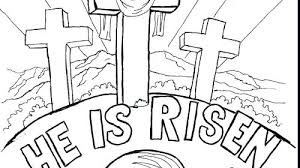 Religious Easter Coloring Pages As Cool Coloring Pages Cross With