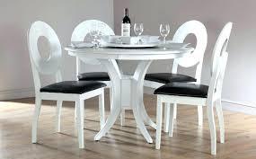modern white round dining table modern white table and chairs modern white round dining table set