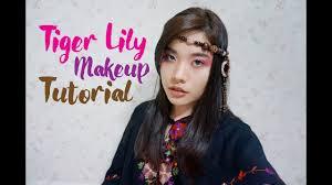 tiger lily makeup tutorial pan 2017 review you