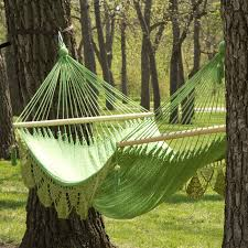 Large Grand Caribbean Nicaraguan Double Hammock with Spreader Bar and  Fringe | Hayneedle