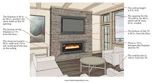 the chairs placed opposite the fireplace wall create the perfect perch for watching the tv or the fire