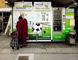 Raw Milk Vending Machine Enchanting Raw Milk Vending Machine Ljubljana PIRAN CAFÉ