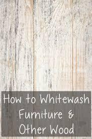 whitewash furniture diy. How To Whitewash Furniture \u0026 Other Wood Diy