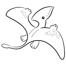 Small Picture Pterodactyl Coloring Pages GetColoringPagescom