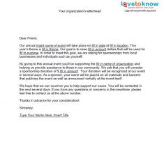 letter asking for donations from businesses samples of non profit fundraising letters lovetoknow