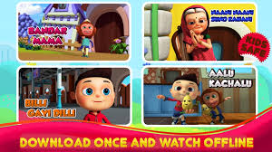 hindi nursery rhymes videos app for