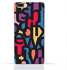 Amc Design Oppo A5 Mobile Protective Case With Abstract Font