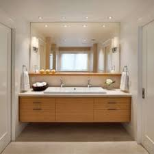 Bathroom mirrors and lighting 60 Inch Bathroom With Recessed Lights And Simple Scones The Mirror With Shelf Is Similar To What Pinterest 107 Best Bathroom Lighting Over Mirror Images Bathroom Light