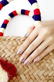 Nail Show Design Fourth Of July Polka Dot Nail Art Design Popsugar Beauty