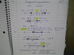 m1 lesson 15 compound inequalities or and and