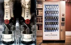 Moet Vending Machine For Sale Inspiration Mini Moët Chandon Vending Machine At Selfridges Lux Pursuits