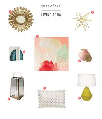 Living Room Furniture List Caitlin Wilson Wish List Living Room Accessories