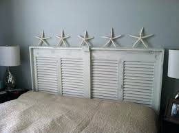 doors as headboards barn door headboard and footboard old ideas vine made into