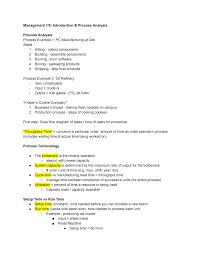 Process Analysis Lecture Notes Bus 2700 Vandy Studocu
