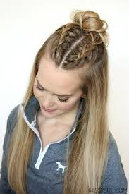 Easy Braid Hairstyles 83 Amazing 24 Sporty Hairstyles Pinterest Double French Braids Dutch Braids