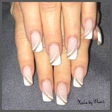 Elegant French Manicure Designs My French Manicure Nail Design Formal Nails Gold Glitter