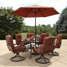 incredible 60 inch round outdoor dining table also lovely patio trends ideas sets elegant grand resort oak hill lazy susan set in red sears of