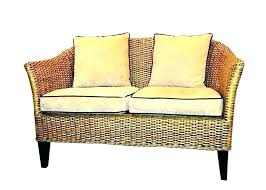 wicker loveseat cushion pier one new 1 elegant by imports s cushions canada covers