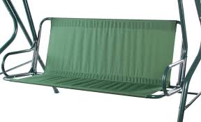 garden swing seat cushions uk. alium™ 2/3 seater swing seat hammock with frilled canopy - green and white garden cushions uk