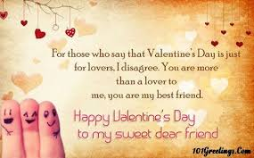 Valentine Quotes For Friends Enchanting Happy Valentines Day Quotes For Best Friends On Happy Valentines Day