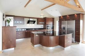 Walnut Kitchen Best Small Kitchen Design Walnut Sheeted Kitchen With Siemens And