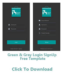 Free Android Templates Android App Design App Templates