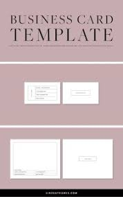 Double Sided Business Card Template Doublesided Business