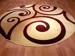 red circle rug modern circular rugs red circles rug round semi impressive best area images on